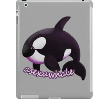Asexuwhale iPad Case/Skin