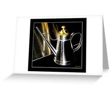 """""""Oil Can 2 . ."""" Greeting Card"""