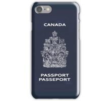 Canadian Passport iPhone Case/Skin