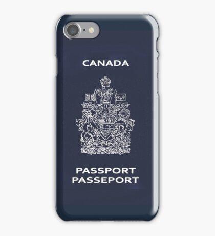 Canadian Passport iPhone Case/Skin