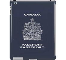Canadian Passport iPad Case/Skin