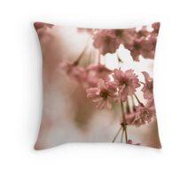 April Blossoms 1 Throw Pillow