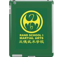 Rand School of Martial Arts Shirt iPad Case/Skin