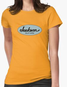 Jackson Black Blue  Womens Fitted T-Shirt