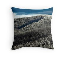 Silver forest Throw Pillow