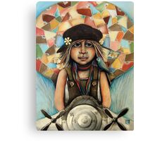 Flying Machine Canvas Print