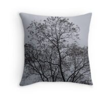 Treeline. Throw Pillow