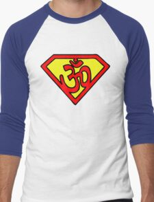 Super Om Symbol Men's Baseball ¾ T-Shirt