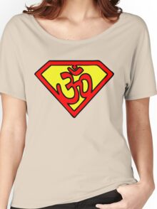 Super Om Symbol Women's Relaxed Fit T-Shirt