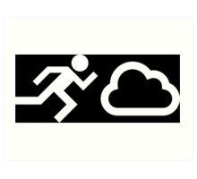 Cloud Chaser Art Print