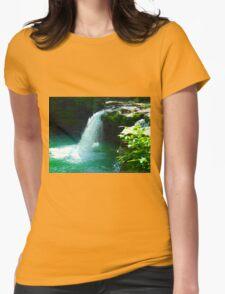 Ozark Cascade Womens Fitted T-Shirt