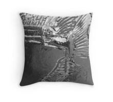 Goldfish abstraction Throw Pillow