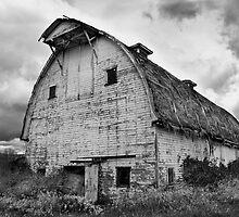 old barn by Jeffrey  Sinnock