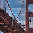 Golden Gate Bridge by Stuart Zero