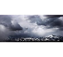 Mountains West of South Jordan, Utah Photographic Print