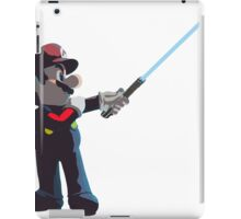 Jedi Mario T-Shirt iPad Case/Skin