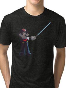Jedi Mario T-Shirt Tri-blend T-Shirt