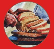Matthew 6:11 One Piece - Long Sleeve