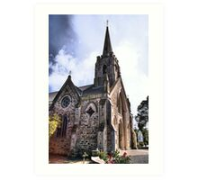 St Andrews Church, Strathalbyn Art Print