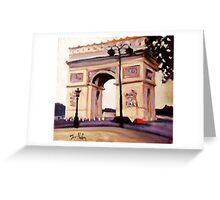 ARCH DE TRIUMPH Greeting Card