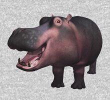 Happy Hippo by Walter Colvin