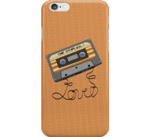 my favorite mix tape is us iPhone Case/Skin