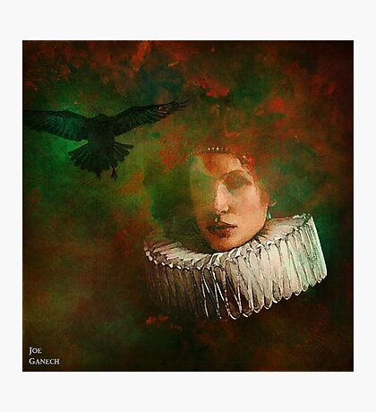 countess of the crow Photographic Print