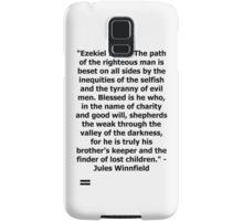 Pulp Fiction - Ezekiel 25:17 Full Samsung Galaxy Case/Skin