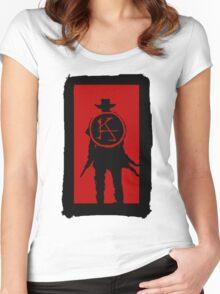 Ka is a wheel Women's Fitted Scoop T-Shirt