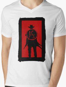 Ka is a wheel Mens V-Neck T-Shirt