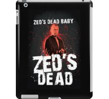Zed's Dead - Pulp Fiction iPad Case/Skin