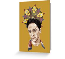 Abed Greeting Card