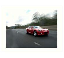 Mazda RX8 Art Print