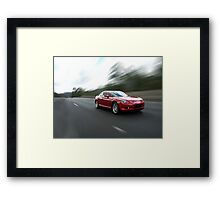 Mazda RX8 Framed Print