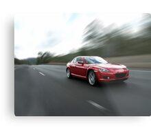 Mazda RX8 Metal Print