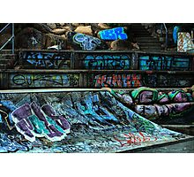 Skate Park Photographic Print