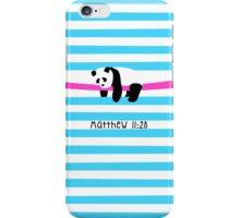Relaxing Panda iPhone Case/Skin