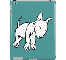 Tired English Bull Terrier Puppy iPad Case/Skin