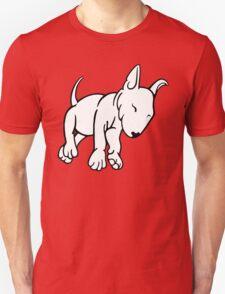 Tired English Bull Terrier Puppy T-Shirt