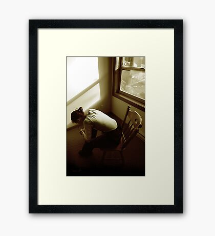 Beauty in Everything Framed Print