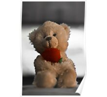 Valentines Bear Poster