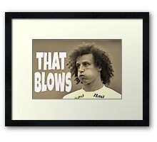 That Blows Framed Print
