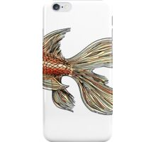 Just a Goldfish iPhone Case/Skin