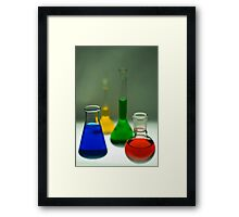 Scientific Colours Framed Print