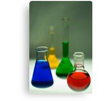 Scientific Colours Canvas Print
