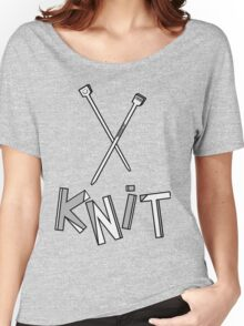 knit!!! Women's Relaxed Fit T-Shirt
