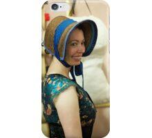Dickens Fair Corset and Cap iPhone Case/Skin