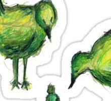Big birds Sticker