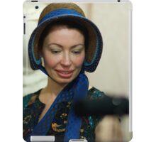 Dickens Fair Corset and Cap Lady iPad Case/Skin