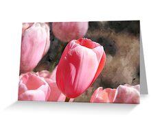 Tulip Wash Greeting Card